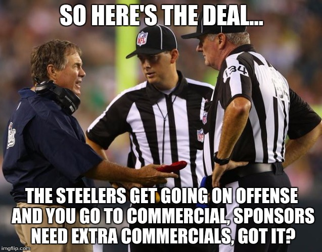 Bill Tells The Refs What To Do Imgflip