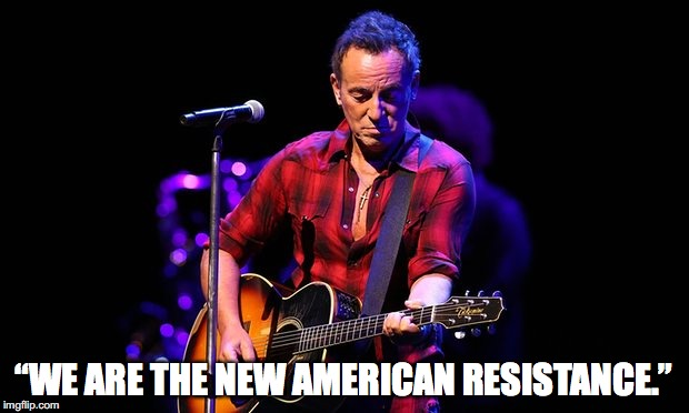 """WE ARE THE NEW AMERICAN RESISTANCE."" 