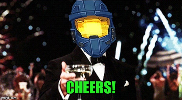 Cheers Ghost | CHEERS! | image tagged in cheers ghost | made w/ Imgflip meme maker