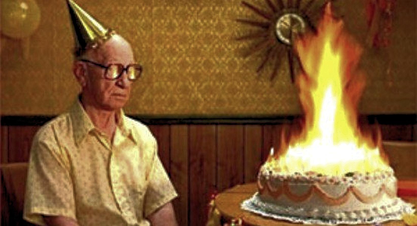 happy birthday old man blank template imgflip