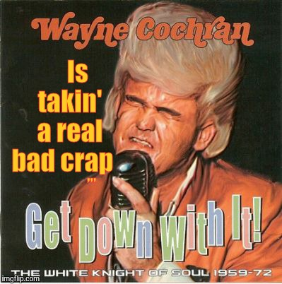 Wayne has constipation to blame,,, | Is    takin'    a real  bad crap ,,, | image tagged in bad album art week,bad album art | made w/ Imgflip meme maker
