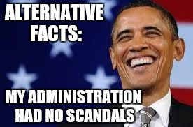 Alternative Facts Obama - Imgflip