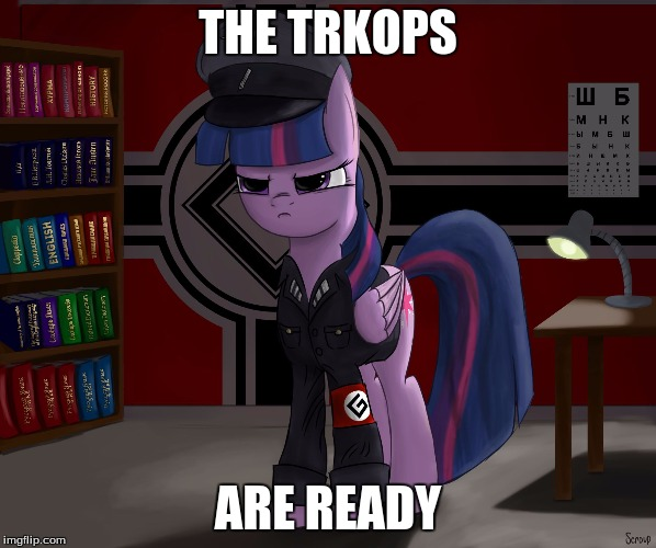THE TRKOPS ARE READY | made w/ Imgflip meme maker