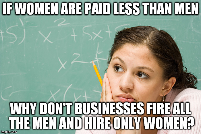Why Women Are Paid Less Money Than Men in 2014