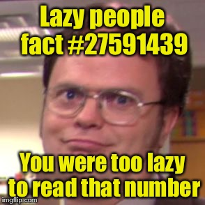 Lazy People
