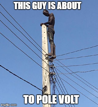 THIS GUY IS ABOUT TO POLE VOLT | made w/ Imgflip meme maker