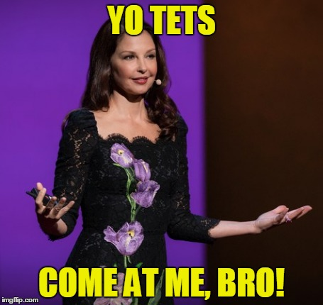 YO TETS COME AT ME, BRO! | made w/ Imgflip meme maker