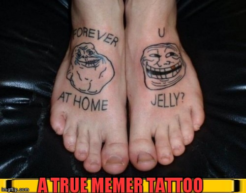 "I'm Sure Her Only ""REGERT"" Is Not Painting Her Toenails Before This Picture! #WorstTattooeverweek 