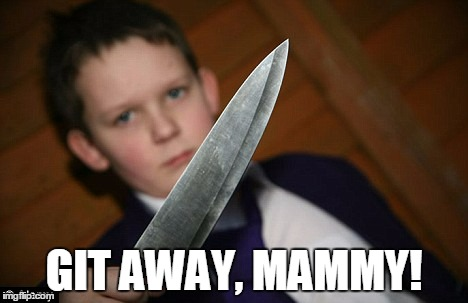 GIT AWAY, MAMMY! | made w/ Imgflip meme maker