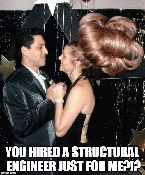 YOU HIRED A STRUCTURAL ENGINEER JUST FOR ME?!? | made w/ Imgflip meme maker