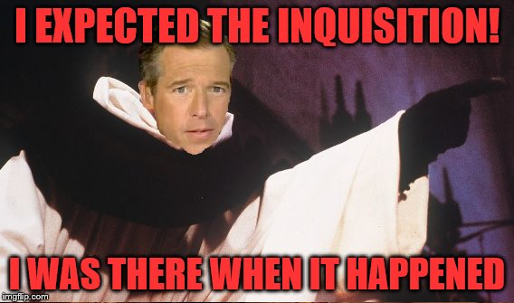 I EXPECTED THE INQUISITION! I WAS THERE WHEN IT HAPPENED | made w/ Imgflip meme maker