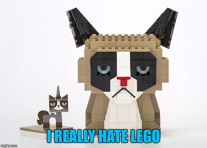 I REALLY HATE LEGO | made w/ Imgflip meme maker