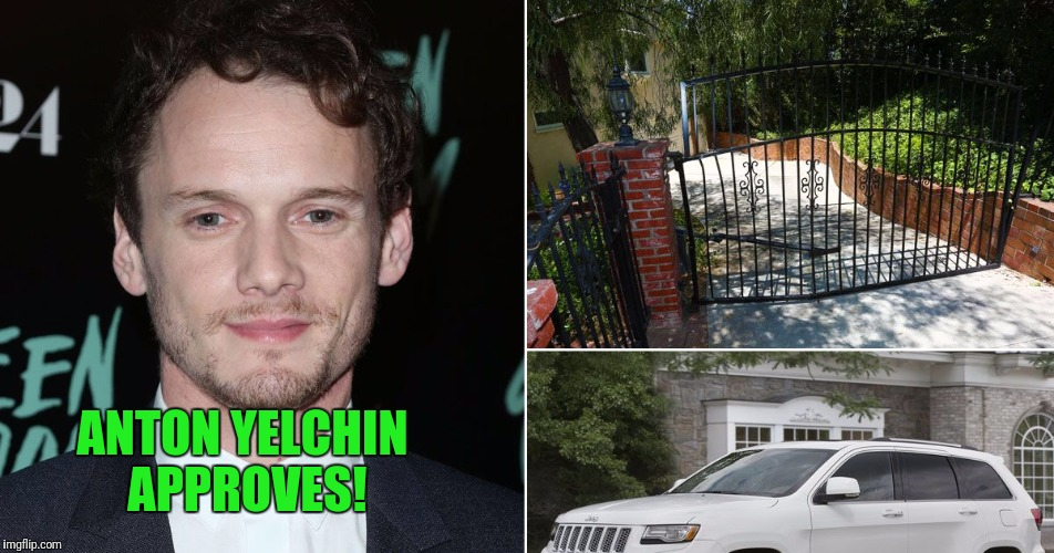 ANTON YELCHIN APPROVES! | made w/ Imgflip meme maker