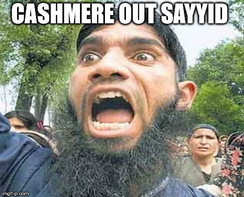 CASHMERE OUT SAYYID | made w/ Imgflip meme maker