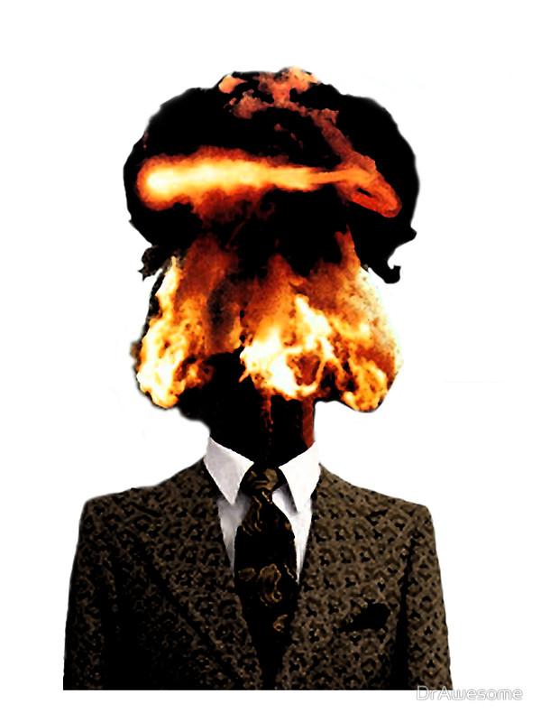Взрывающаяся голова картинки