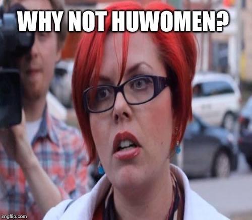 WHY NOT HUWOMEN? | made w/ Imgflip meme maker
