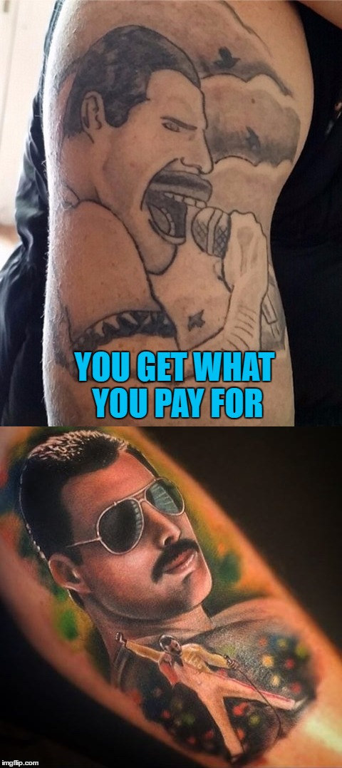 YOU GET WHAT YOU PAY FOR | made w/ Imgflip meme maker