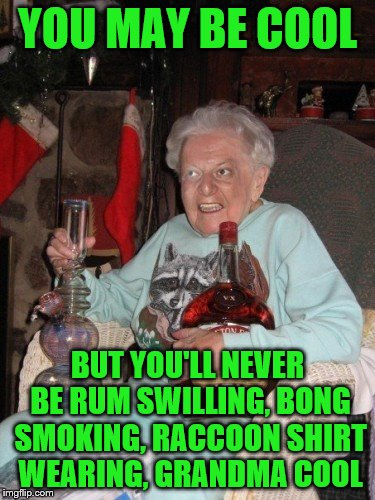 Hot Old Lady Meme
