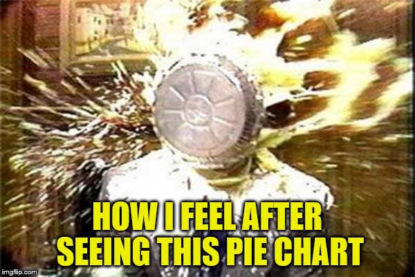 HOW I FEEL AFTER SEEING THIS PIE CHART | made w/ Imgflip meme maker