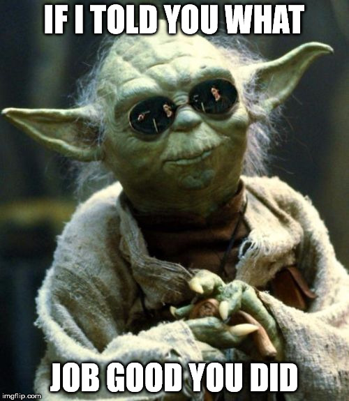 If I Told You What | IF I TOLD YOU WHAT JOB GOOD YOU DID | image tagged in if i told you what | made w/ Imgflip meme maker