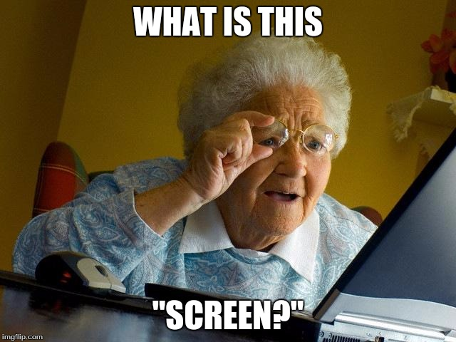 "Grandma Finds The Internet Meme | WHAT IS THIS ""SCREEN?"" 