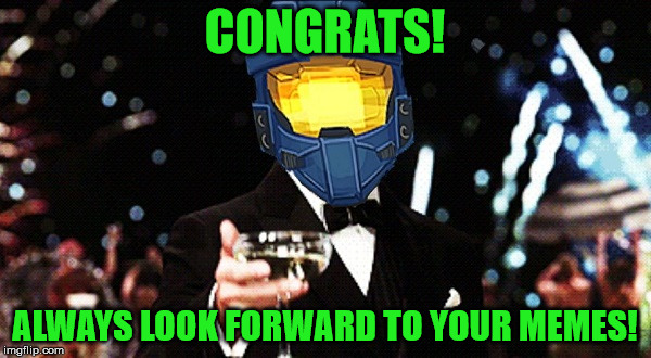 Cheers Ghost | CONGRATS! ALWAYS LOOK FORWARD TO YOUR MEMES! | image tagged in cheers ghost | made w/ Imgflip meme maker