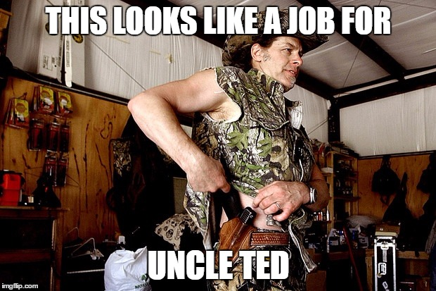 THIS LOOKS LIKE A JOB FOR UNCLE TED | made w/ Imgflip meme maker