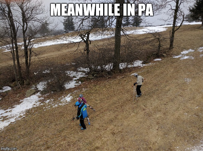 MEANWHILE IN PA | made w/ Imgflip meme maker