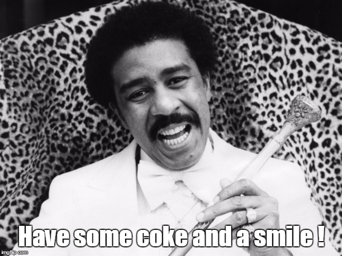 Have some coke and a smile ! | made w/ Imgflip meme maker