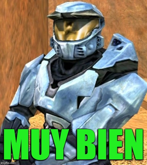 Church RvB Season 1 | MUY BIEN | image tagged in church rvb season 1 | made w/ Imgflip meme maker