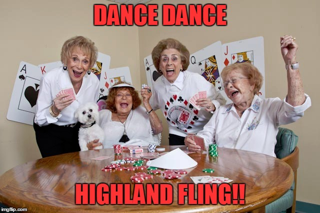 DANCE DANCE HIGHLAND FLING!! | made w/ Imgflip meme maker