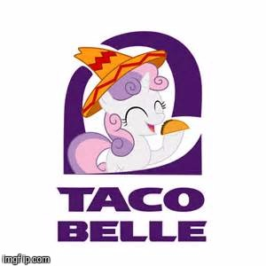 Taco Belle | H | image tagged in taco belle | made w/ Imgflip meme maker