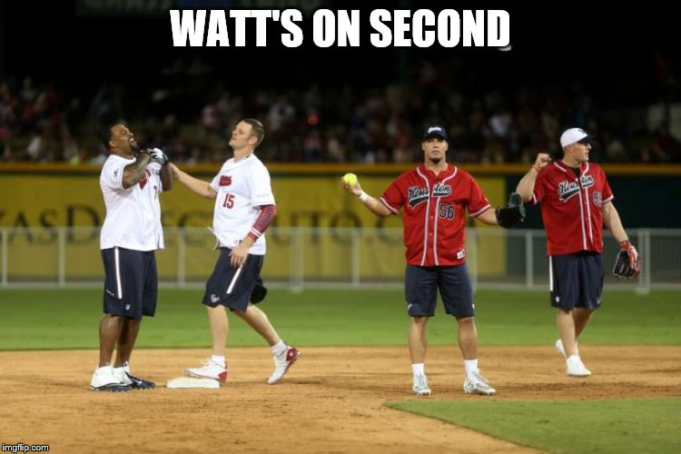 WATT'S ON SECOND | made w/ Imgflip meme maker