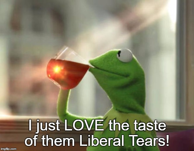 But That's None Of My Business (Neutral) |  I just LOVE the taste of them Liberal Tears! | image tagged in memes,but thats none of my business neutral | made w/ Imgflip meme maker