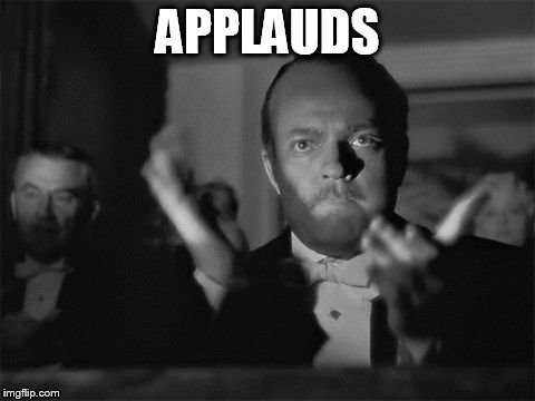 clapping | APPLAUDS | image tagged in clapping | made w/ Imgflip meme maker