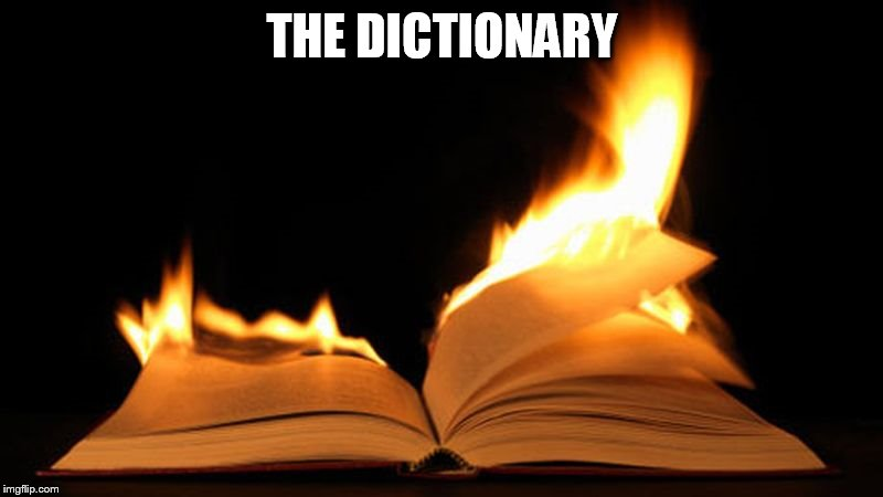 THE DICTIONARY | made w/ Imgflip meme maker