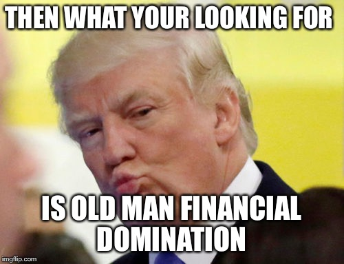 Rule thirty four | THEN WHAT YOUR LOOKING FOR IS OLD MAN FINANCIAL DOMINATION | image tagged in rule thirty four | made w/ Imgflip meme maker