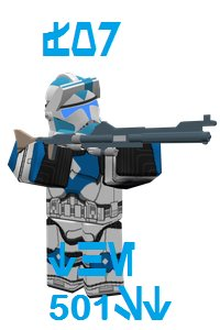 It's a meme, trust me. | image tagged in star wars,trooper,501st,meme,good,not bad | made w/ Imgflip meme maker