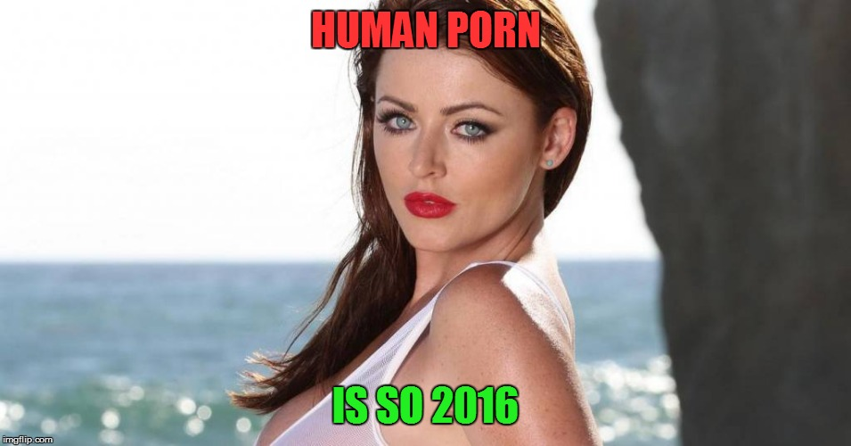 HUMAN PORN IS SO 2016 | made w/ Imgflip meme maker
