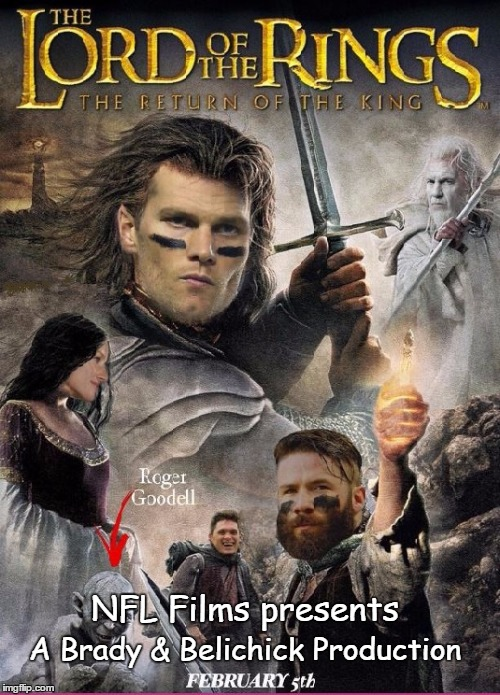The Falcons are coming!  The Falcons are coming! |  NFL Films presents; A Brady & Belichick Production | image tagged in super bowl,tom brady,bill belichick | made w/ Imgflip meme maker