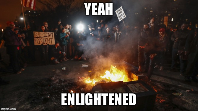 YEAH ENLIGHTENED | made w/ Imgflip meme maker
