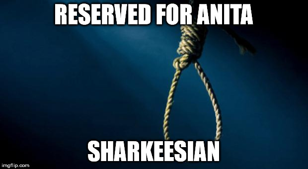 Noose | RESERVED FOR ANITA SHARKEESIAN | image tagged in noose,memes | made w/ Imgflip meme maker