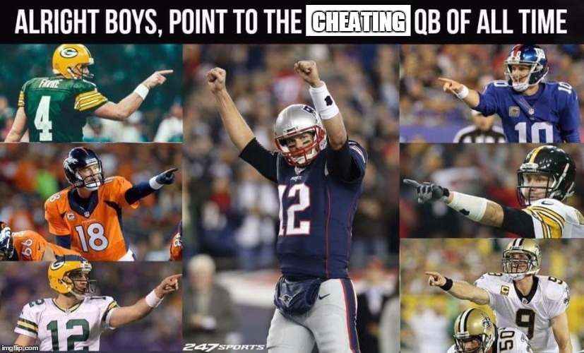 tom brady cheats | CHEATING | image tagged in tom brady,tom brady superbowl | made w/ Imgflip meme maker