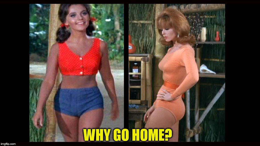 WHY GO HOME? | made w/ Imgflip meme maker