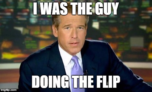 I WAS THE GUY DOING THE FLIP | made w/ Imgflip meme maker