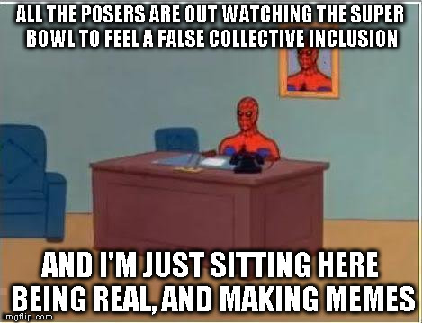 "I guess you could say I'm really ""counter"" culture now... 