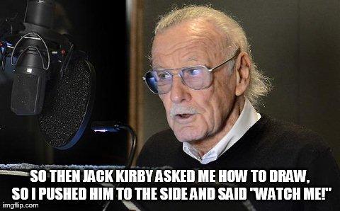 "Jack Kirby: ""Stan Lee era una peste"" 1j211"