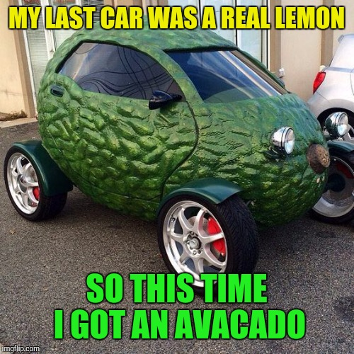 "And they see me rollin', they be all ""Holy Guacamole!"" 