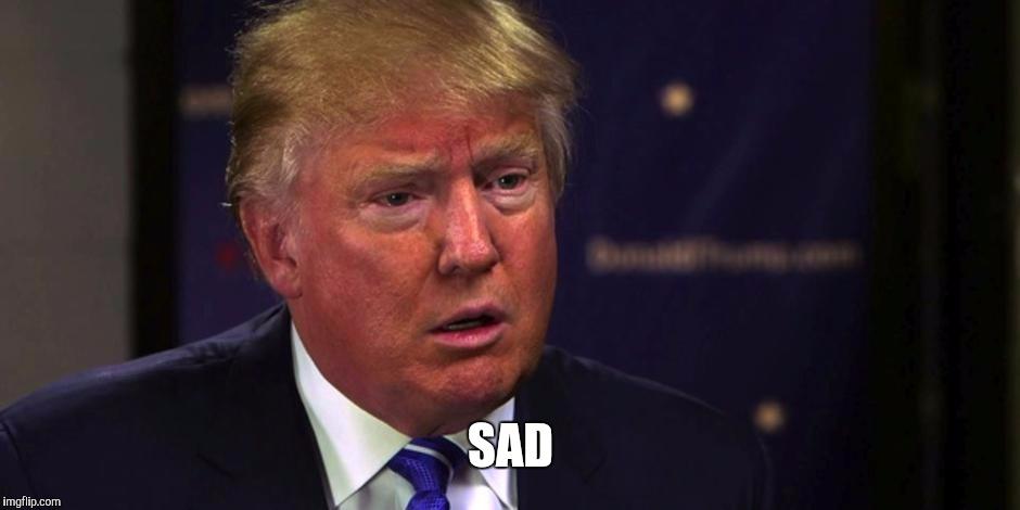 Sad Trump Imgflip