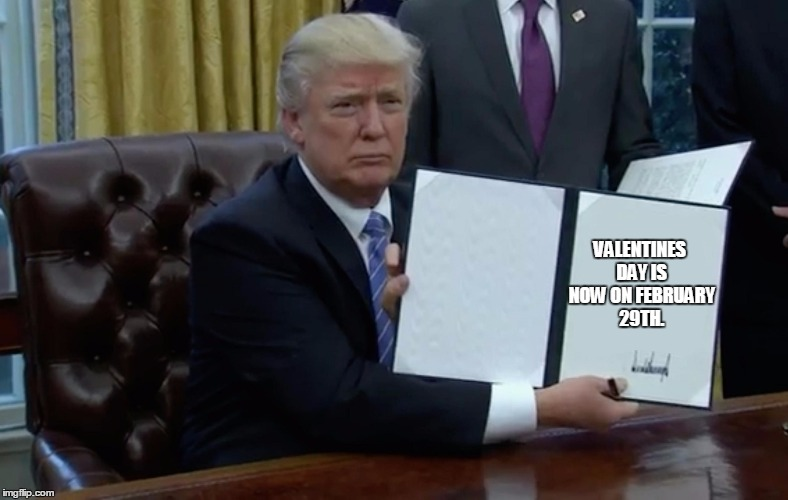 Executive Order Trump Memes Imgflip